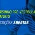 Cursinho pré-vestibular gratuito está com inscrições abertas até 12/04