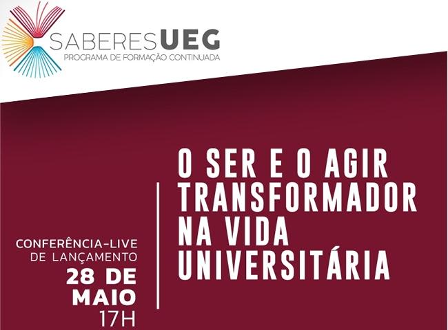 UEG lança programa de formação continuada