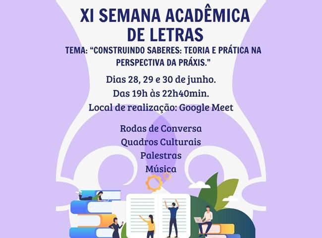 XI Semana Acadêmica de Letras da UEG Posse ocorre entre os dias 28 e 30/06