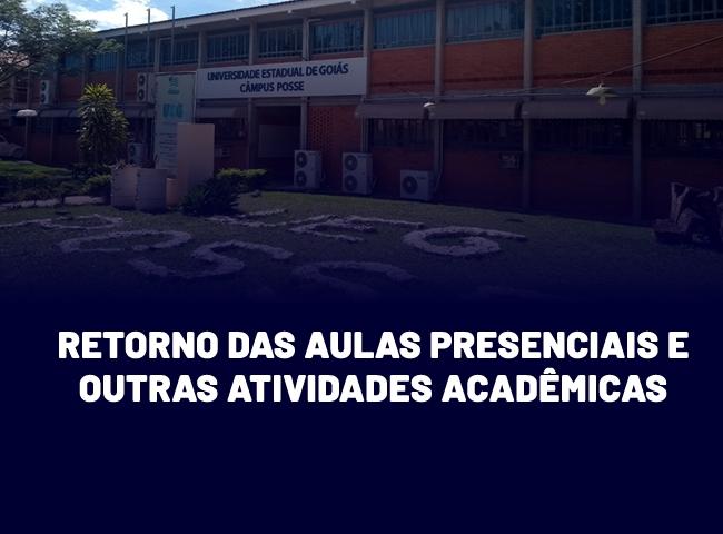 UEG publica resolução sobre o retorno das aulas presenciais e outras atividades acadêmicas