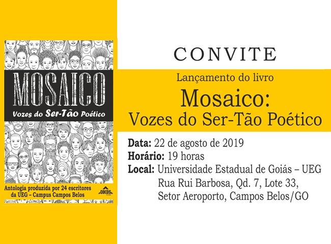 UEG Campos Belos realiza lançamento de livro de poesias