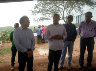Fazenda escola do curso de Tecnologia em Produção de Grãos é inaugurada